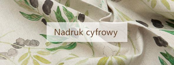 Nadruk cyfrowy na tkaninach naturalnych