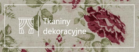 Lniane tkaniny dekoracyjne